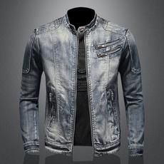 Jacket, Fashion, solid, Spring