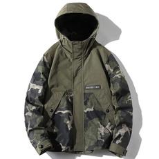 Jacket, Fashion, Army, Spring