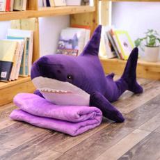 Shark, stuffed, Gifts, Blanket