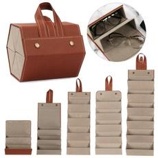Storage Box, Leather Cases, multilatticegiftbox, glassesstoragebag