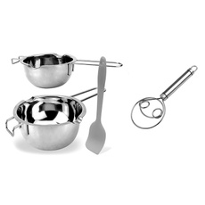 Steel, Stainless Steel, Silicone, Pot