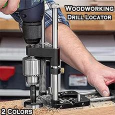 Steel, woodworkingholepuncher, handhelddoweljig, Home & Living