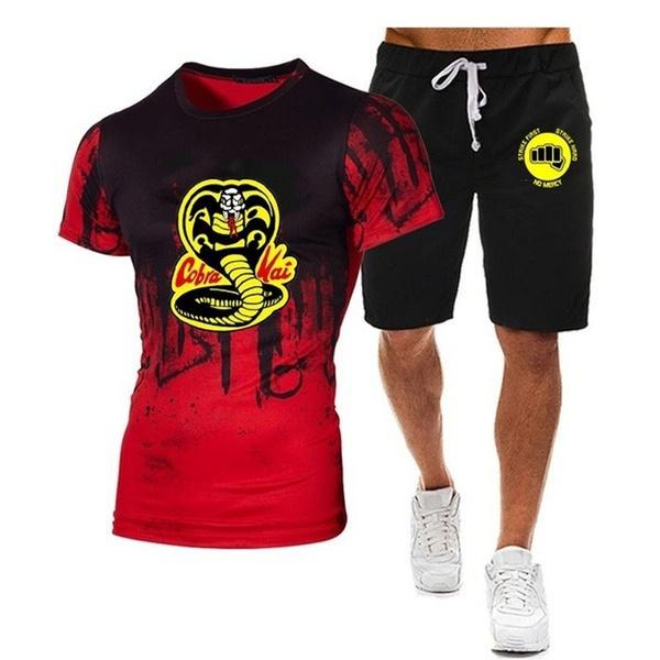 men clothes, Cobra, Shorts, Shirt