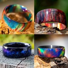 rainbow, wedding ring, Gifts, naturalgemstone