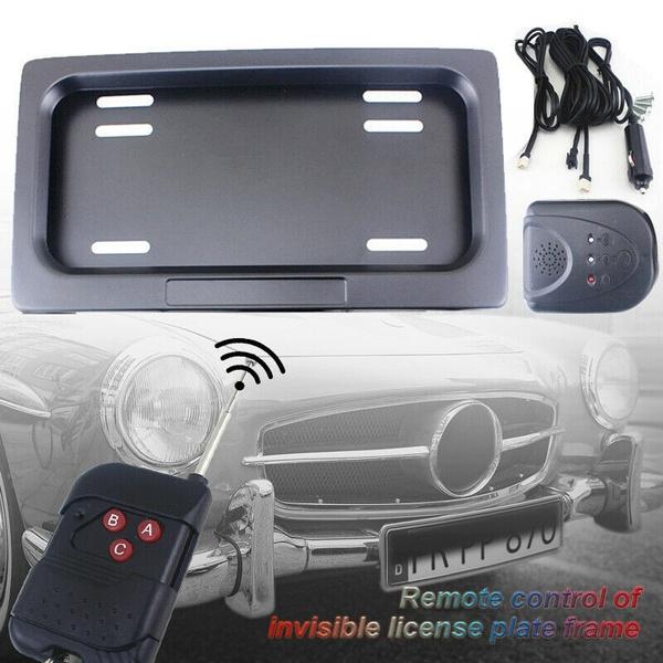 licenseplate, Remote Controls, Electric, Cars