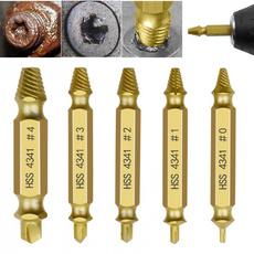 extractor, damagedscrewextractor, screwextractordrillbit, breakagedrill