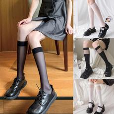 Cotton Socks, kneehighsock, Shoes Accessories, longsocksforgirl