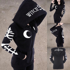 Goth, Fashion, Long Sleeve, giubbottidonna