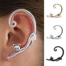 Punk jewelry, Jewelry, Stud Earring, Cats