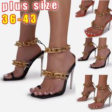Summer, fashion women, Plus Size, Chain