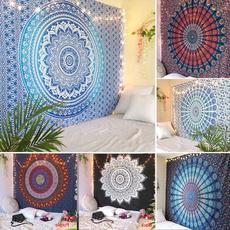 trippytapestry, peacock, Decor, tapestryforbedroom