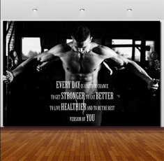 Home & Kitchen, Wall Art, Home Decor, Fitness