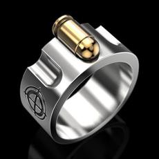 Sterling, Head, hip hop jewelry, wedding ring