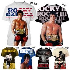 Mens T Shirt, Fashion, rockybalboa, topsandtshirt