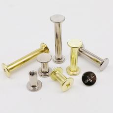 rivetbolt, golden, semitubularrivet, lockscrew
