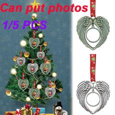 Photo Frame, heartshapedpendant, Christmas, christmaspendant