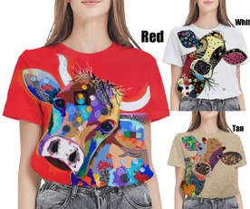 Summer, Funny T Shirt, 3dmentshirt, cartooncow
