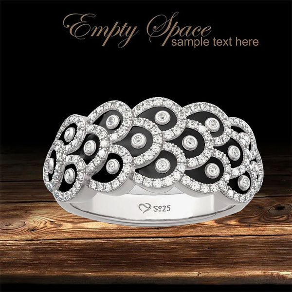 Sterling, peacock, Fashion, wedding ring