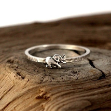 Sterling, animalring, Christmas, 925 silver rings
