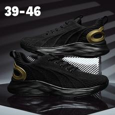 casual shoes, Plus Size, sneakersformen, Pure Color