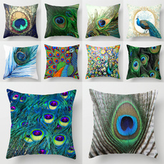 peacock, Polyester, Fashion, carwaistcushion