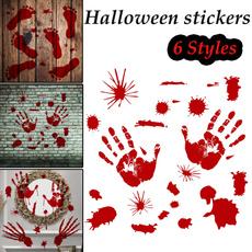 Door, halloweensticker, Ornament, Horror