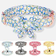 cute, Flowers, Dog Collar, petaccessorie