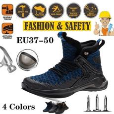 Steel, safetyshoe, Plus Size, sports shoes for men