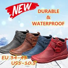 ankle boots, leatherbootsforwomen, flatheelboot, leather