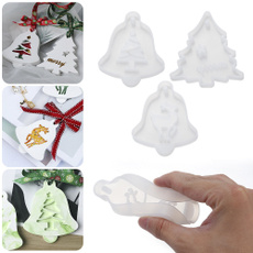 elk, Christmas, diypendant, Crystal