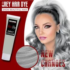 lightsilvergray, hair, punk style, Dyes