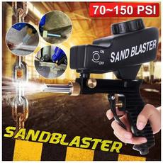 sandblasted, easycarringspraymechine, airbrush, sodablaster
