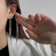 bowknot, Tassels, Dangle Earring, Jewelry