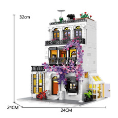 building, city, Style, Toy