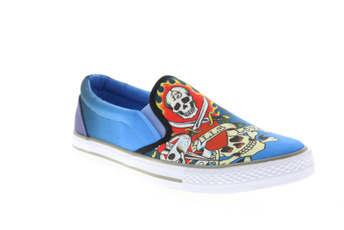 Blues, Sneakers, Slip-On, Lifestyle