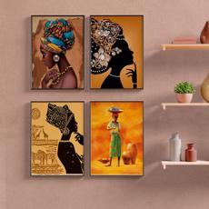 africanprint, Decor, art, livingroomwalldecor