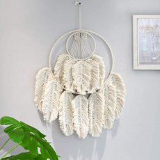 handmadewoven, walltapestsry, bedroomdecor, leaf