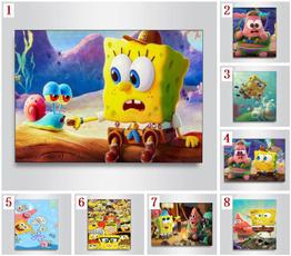 DIAMOND, art, Home Decor, Sponge Bob