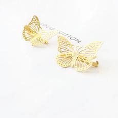 irregularhairpin, butterfly, diamondhairpin, Jewelry