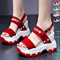 casual shoes, beach shoes, Sandalias, Women Sandals
