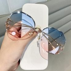 Outdoor Sunglasses, Women's Fashion, Crystal, Fashion Accessories