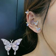 butterfly, Women's Fashion & Accessories, nopiercingear, Earing