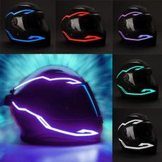 Helmet, led, motorbike, reflectiveled