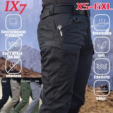 Plus Size, Fashion, Waterproof, pants