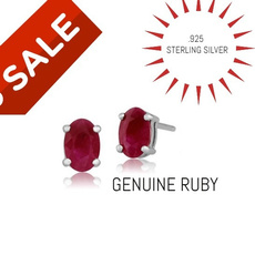 Sterling, Jewelry, gold, Stud Earring