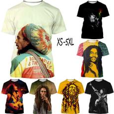 reggae, couplescasualtshirt, Summer, unisexsporttopsshortsleevetee