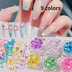 nail decoration, Nails, Bead, art