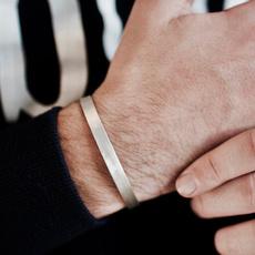 Steel, bangle bracelets, Jewelry, gold