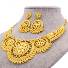 party, jewelleryset, gold, Earring