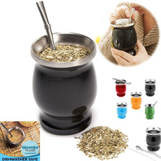 Steel, doublewall, Cup, Tea